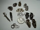 Military Charms-Weapons, Planes, MC, Caduceus,Army in 29 Palms, California