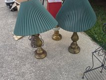 brass lamps in Kingwood, Texas
