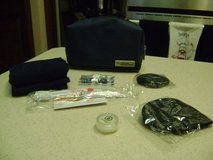 Overnight Amenities Kit In Zippered Case - NEW - (Toothbrush, ETC.) in Houston, Texas
