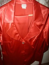 *REDUCED Sexy Red Satin Suit in Houston, Texas