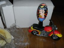 NEW Betty Boop Biker Hair Brush & Motorcycle Stand in Houston, Texas