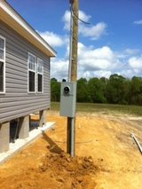200 Amp Meter Loop in Fort Polk, Louisiana