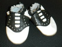 Baby ROBEEZ Newborn 0-6 Months Saddle Oxford Shoes 50's Diner Costume Prop in Kingwood, Texas